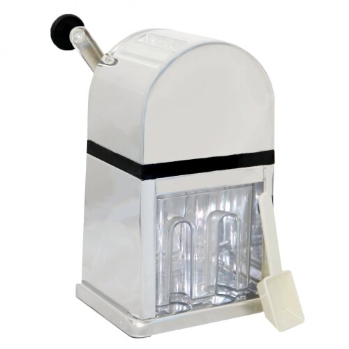 Oypla Manual 900ml Ice Crusher with Tray & Scoop Smoothies Cocktails