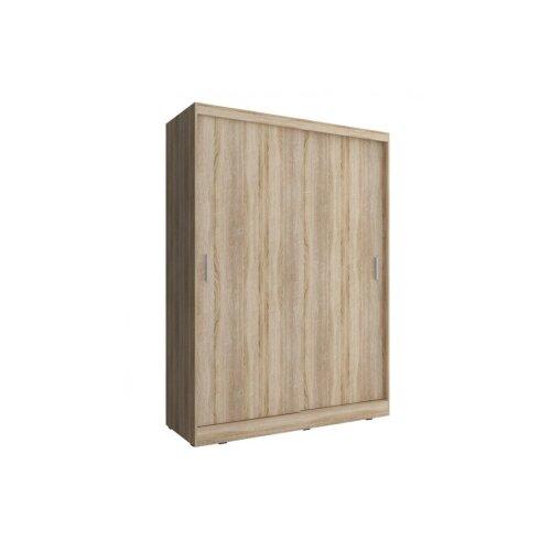 (Sonoma Oak) Checo Small Modern Sliding Door Wardrobe