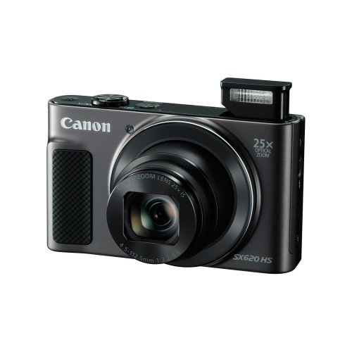 Canon PowerShot SX620 HS Digital Camera - Black | 25x Optical Zoom Camera