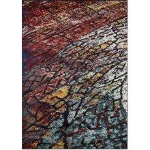 Momeni Rugs Loft Collection, Contemporary Area Rug, 3'11 x 5'7, Multicolor