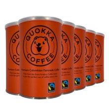 Quokka Fairtrade Colombian Coffee| Arabica Instant Coffee 100g Smooth, Rich Flavour
