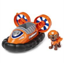 Paw Patrol 6054436 Zuma's Hovercraft Vehicle with Collectible Figure, for Kids Aged 3 Years and Over, Multicolour