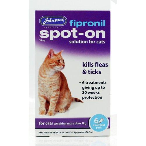Fipronil Spot-on For Cats 6 Vial Pack