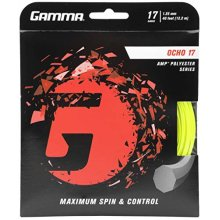Gamma Sports Ocho 17G Tennis String Neon Yellow