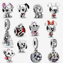 Disney Mickey Minnie Pandora 925 Sterling Silver