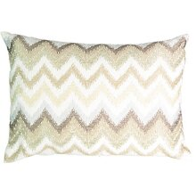Beautyrest 16426014X020MUL Social Call 14-Inch by 20-Inch Beaded Pillow Multi