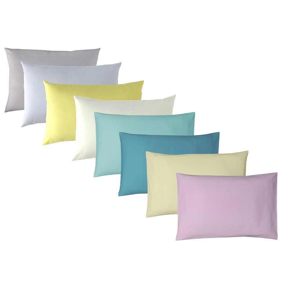 Ptit Basile Set of 4 Organic Cotton Baby Pillowcases 40 x 60 cm White 100/% Oekotex and GOTS Certified Cotton