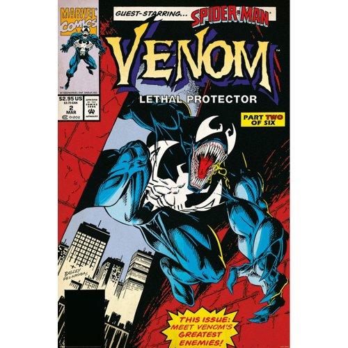 "Poster - Studio B - Venom - Lethal Protector 2 36x24"" Wall Art P4346"