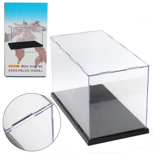 31cm Long Transparent Acrylic Perspex Dustproof Display Box Case
