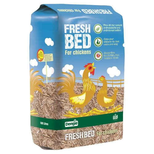 Dengie Fresh Bed for Chickens | 100ltr Bale