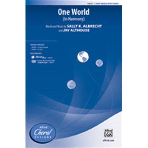 Alfred 00-38034 ONE WORLD-STRX CD