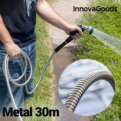 InnovaGoods Unbreakable Metal Hose (30 m)