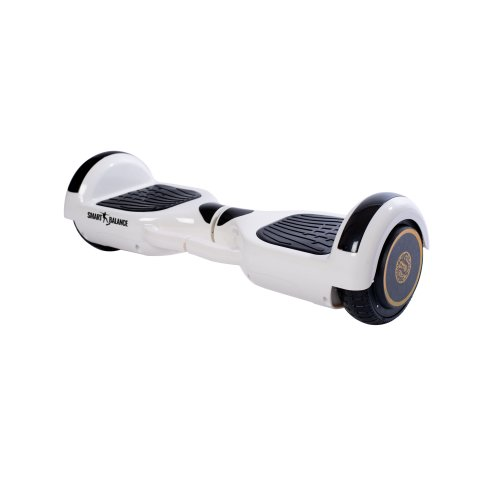 Hoverboard Smart Balance™ Premium Brand, Regular White Handle, 6.5 inch