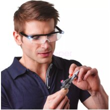 MIGHTY SIGHT LED MAGNIFYING EYEWEAR HD RECHARGEABLE GLASSES