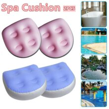 1/2PCS Home Spa Accessories Spa Cushion Seat Hot Tub Booster Inflatable Adults Kid