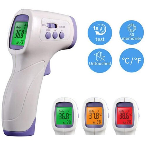 Digital LCD Temperature Meter Thermometer Sensor Thermometer Infrared