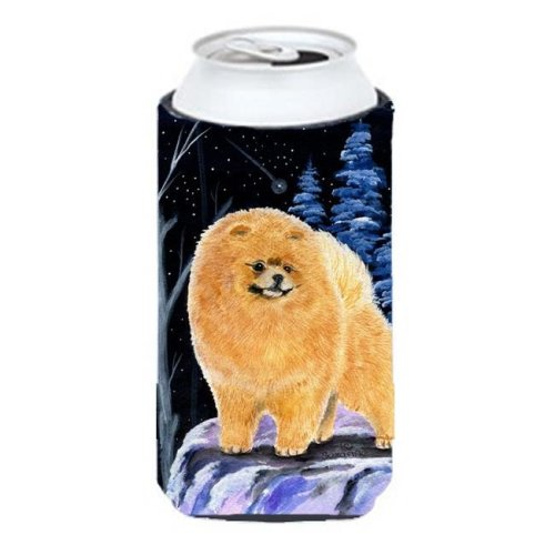 Starry Night Pomeranian Tall Boy bottle sleeve Hugger