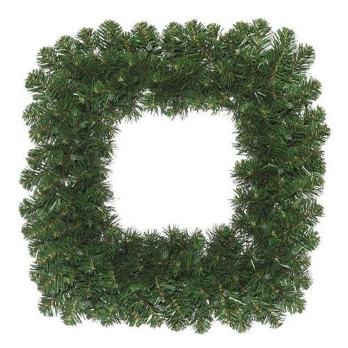 Vickerman C164824 Oregon Fir Square Wreath - 24 in.