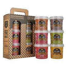 Mr Tubs Premium Pork Crackling 6 Flavour Carry Case Gift Set