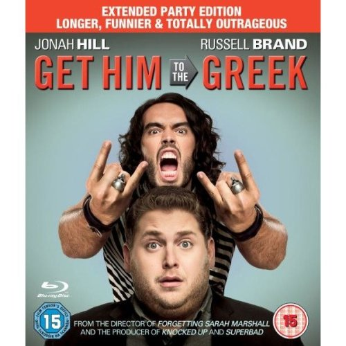 Get Him To The Greek - Extended Party Edition Blu-Ray [2010]