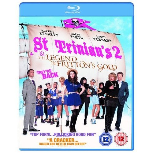 St Trinians 2 - The Legend Of Frittons Gold Blu-Ray [2010]