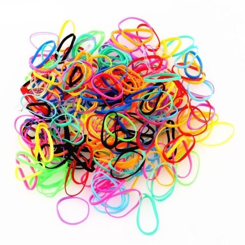 Various color Elastic Rope Rubber Band
