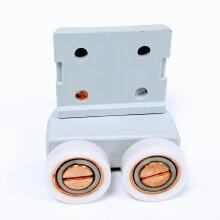 1 x Shower Door Roller Flat Wheels 17mm IS8TF