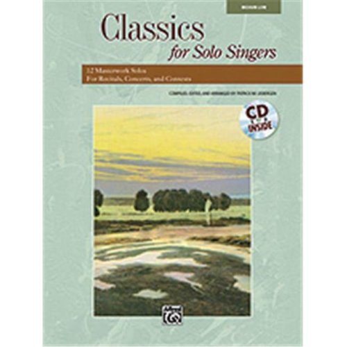 Alfred 00-33210 CLASSICS FOR SOL SNGR-LO-BK&CD