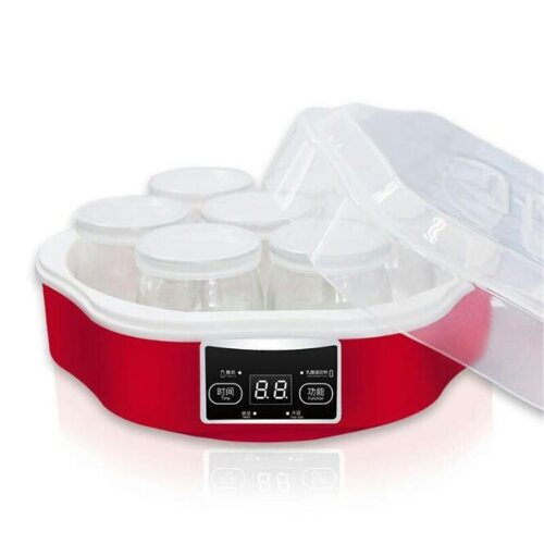 Electric Automatic Yogurt Maker Machine With Glass Jars - Smart Yoghurt Tool Container