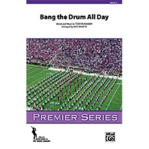 Alfred 00-36496 BANG THE DRUM ALL DAY-PSM