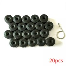 20 Wheel Nut Bolt Cover Cap 17mm For Volkswagen Golf MK4 Passat Audi Beetle UK
