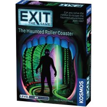EXiT: The Haunted Roller Coaster | Single Use Board Game