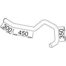 Exhaust Pipe DINEX 52773 616.492.1914 MERCEDES-BENZ MK NG