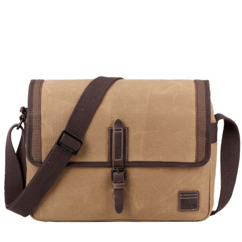 TRP0486 Troop London Classic Canvas Messenger Bag | Buy Bags Online | Canvas Messenger Bags | leather canvas backpack