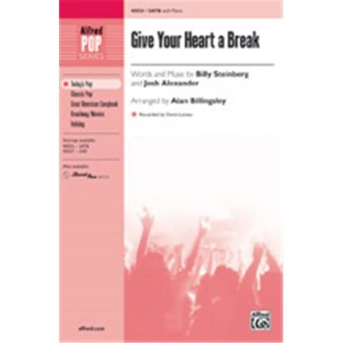 Alfred 00-40028 GIVE YOUR HEART A BREAK-STRX CD