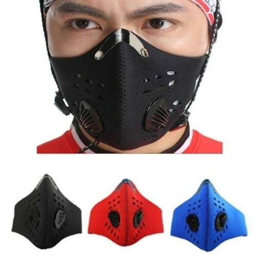 Cycling Anti Dust Face Mask PM2.5 Mouth Muffle Carbon Filter Masks