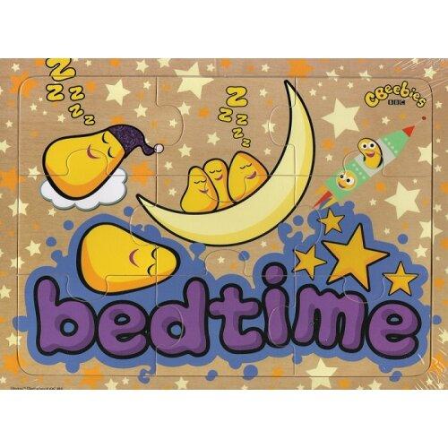 CBeebies Wooden 9 Piece Jigsaw Puzzle - Bedtime