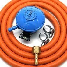 Cavagna 20mm Butane Gas Regulator Bbq Conversion Kit 1/4 LHT fitting