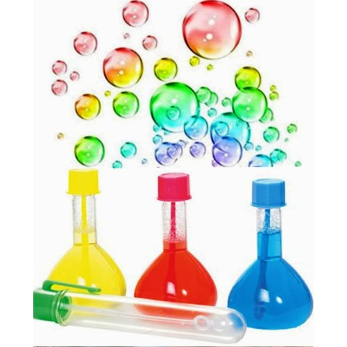 Magic Rainbow Mix Your Own Bubbles Kit | Kids' Bubble Mixing Set