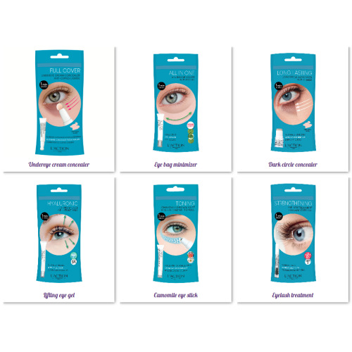 L'Action Paris- Our Eye Range- Treat All Eye Concerns- Target Dark Circles, Eye bags, Puffy Eyes & Eye Lash Growth Treatment-6 Products To Choose From