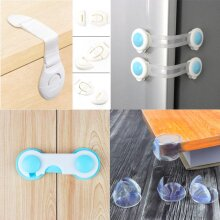 2020 New 5pc/10pc Child Protection Multifunction Baby Safety Door Lock Drawer Cupboard Window Protection Baby Security Products