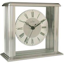 Acctim 36247 Hamilton Mantel Clock, Silver Effect