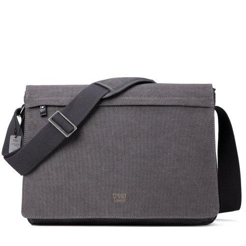 Troop London Classic Canvas Laptop Large Messenger Bag | Buy Laptop Bags Online | Canvas Laptop Bag