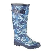 Woodland Womens/Ladies High Leg Wellington Boot