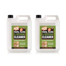One Chem 2 x 5L Path Patio & Decking Cleaner Concentrate Treats 125sqm
