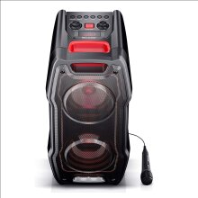 Sharp PS-929 180W Bluetooth Speaker with Flashing LED backlighting and USB Input