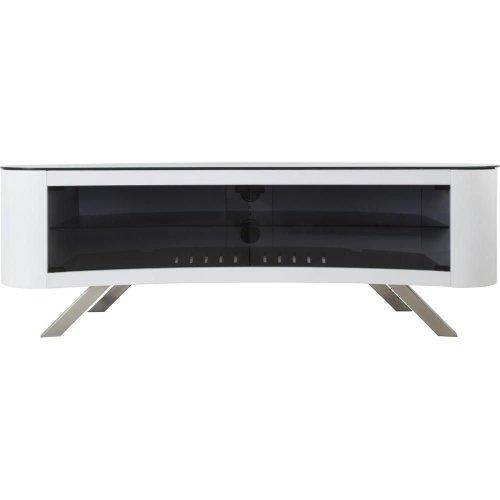 AVF Bay 1500 TV Stand, White