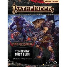 Pathfinder Adventure Path: Tomorrow Must Burn (Age of Ashes 3 of 6) [P2] - Used