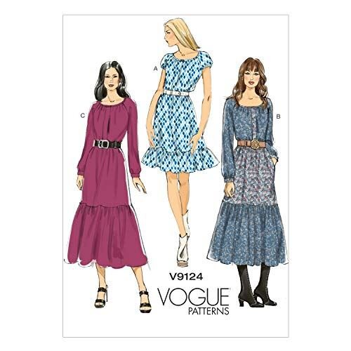 Vogue Sewing Patterns 9124 Misses Pullover Dress Size E5 14-22