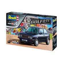 RV05694 - Revell Gift Set 1:24 - 35 Years VW Golf Mk.1 GTI
